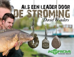 Als een leader door de stroming - David Wouters