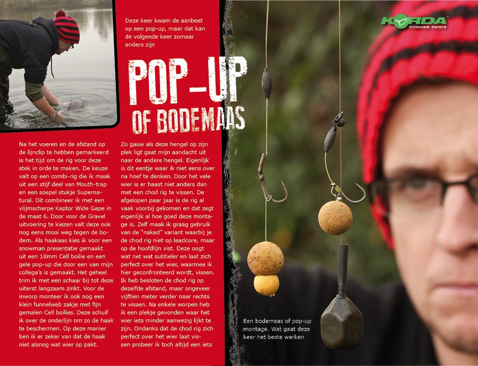 Pop-up of bodemaas? - Neil Spooner